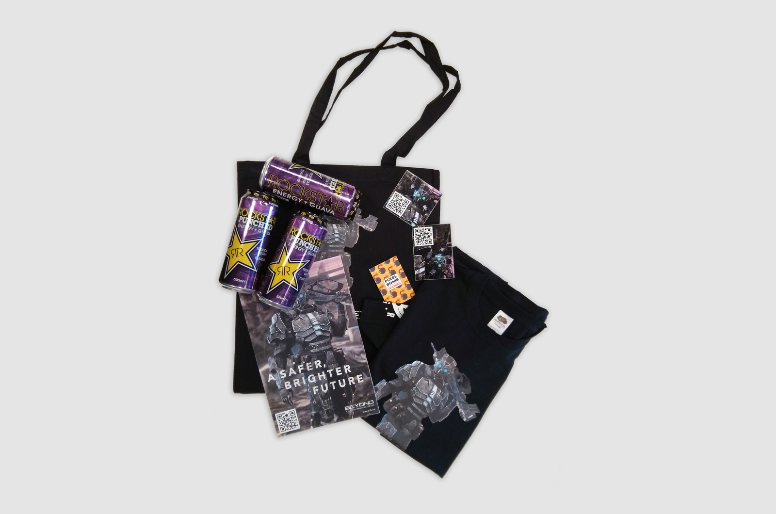 Beyond Flesh and Blood Event Give-away bag 01