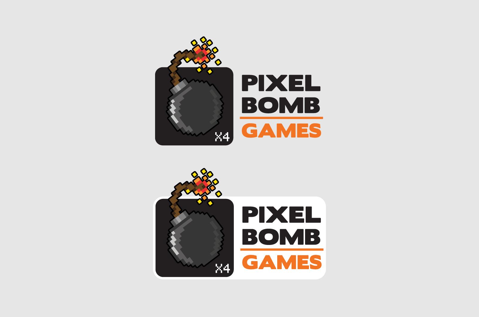 Pixelbomb Games Logos 02
