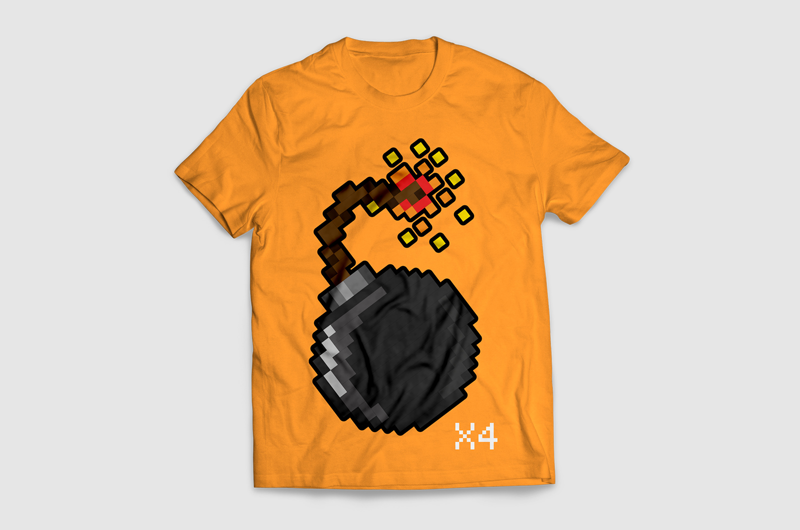 Pixelbomb Games Development Team T-shirt 01