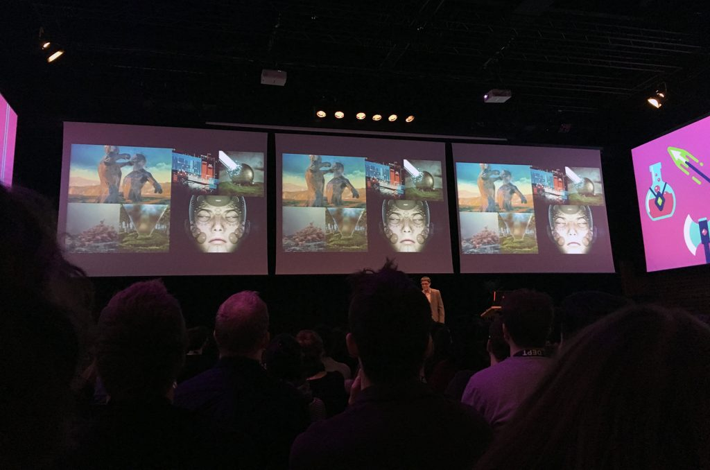 Beeple at FITC Amsterdam 2018
