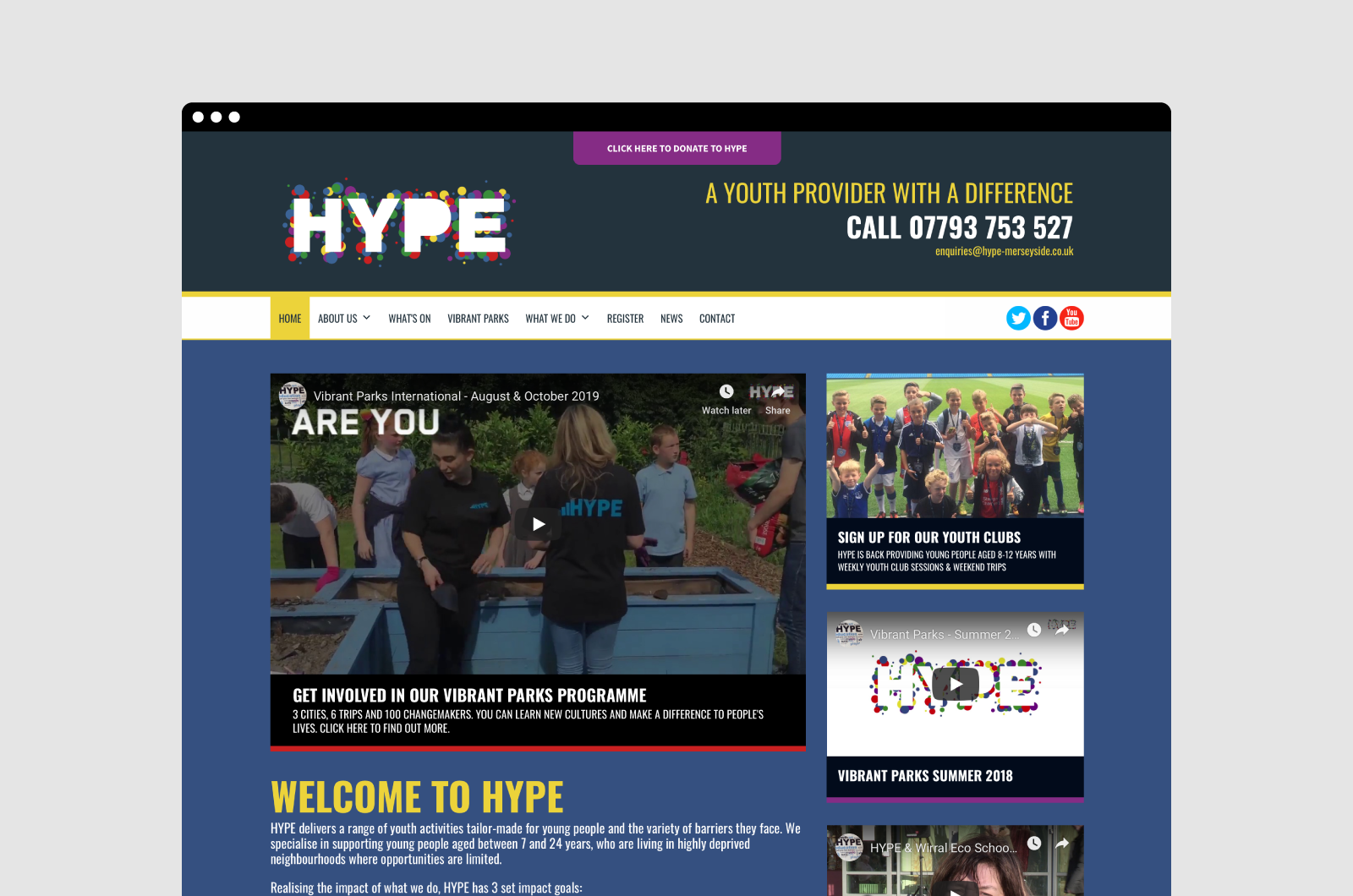 Hype Merseyside Website 01